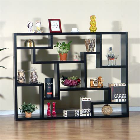 dazzling room dividers shelf design ideas modern shelf