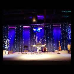 Stage Christmas Decorations Christmas Lines Church Stage Design Ideas