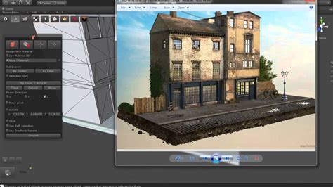 level design   small town modeling part