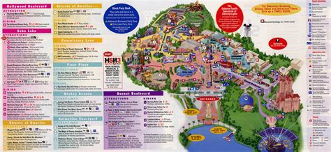 disney studios map printable disney studios map 2016 calendar template 2016