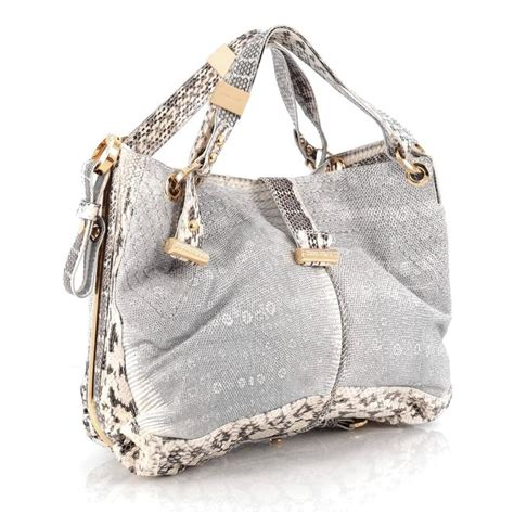 Jimmy Choo Alex Purse by Jimmy Choo Alex Hobo Python Medium At 1stdibs