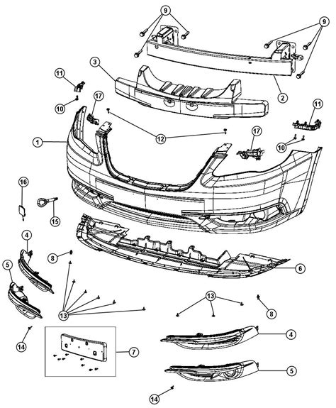 manual repair autos 2012 chrysler 200 spare parts catalogs 2012 dodge avenger bumper diagram imageresizertool com