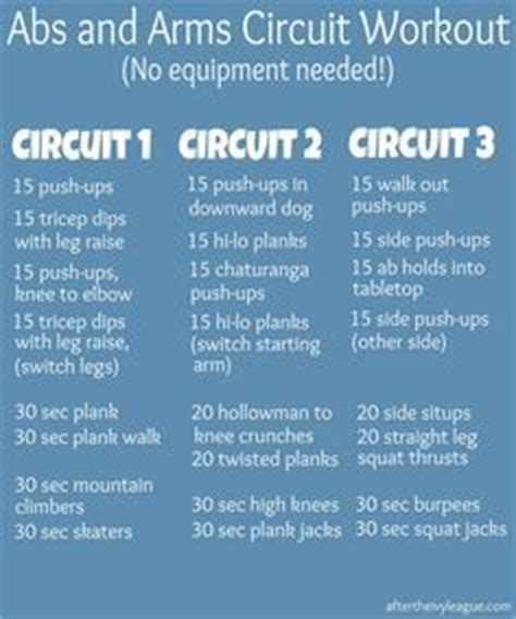 17 best ideas about circuit workouts on