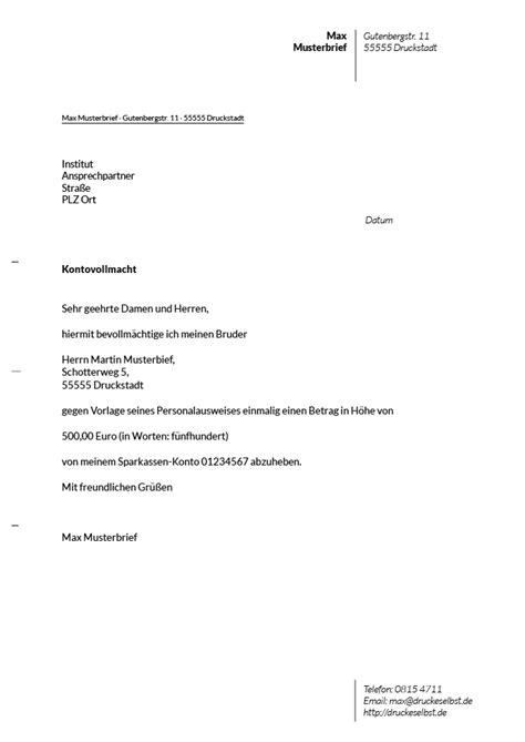 Vollmacht Briefvorlage Drucke Selbst Kostenlose Vorlage Mit Mustertext F 252 R Einen Kondolenzbrief