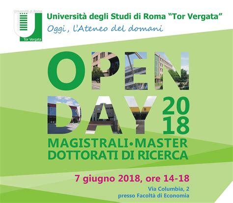 a roma l open day per economia e open day universit 224 degli studi di roma tor vergata