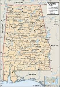 map of alabama alabama maps and atlases