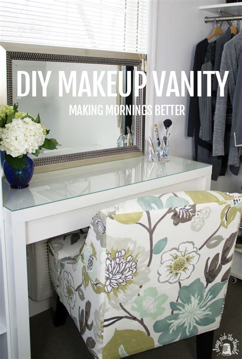 ikea makeup vanity hack good morning makeup vanity ikea hackers ikea hackers