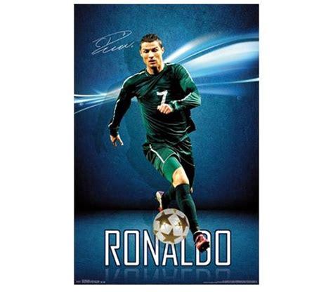 Laptop Desk White Cristiano Ronaldo Poster Supplies For Dorms College