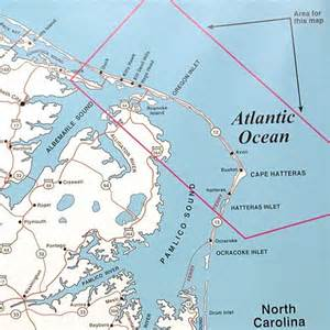 top spot map n243 oregon inlet hawk area to