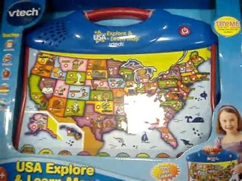 vtech usa explore and learn map usa expore and learn map explore mpg