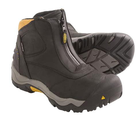 zip up winter boots mens mount mercy