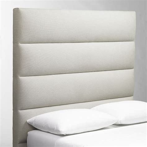 Panel Tufted Headboard West Elm 549 Queen Shelby