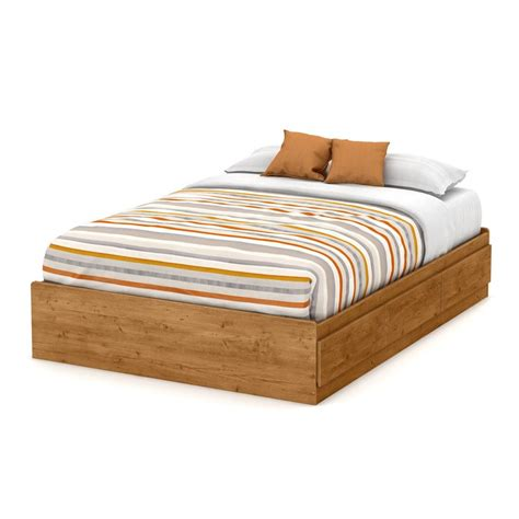 pine platform bed shop south shore furniture little treasures country pine