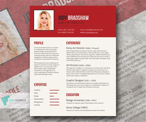 Fancy Resume Templates by Fancy Resume Template For Free Rubicund Headliner