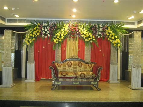 Wedding stage and decorations wedding backdrop flower