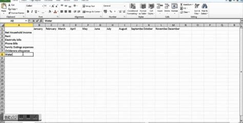 Create Your Own Budget Spreadsheet by Templates How To Make Your Own Budget Spreadsheet