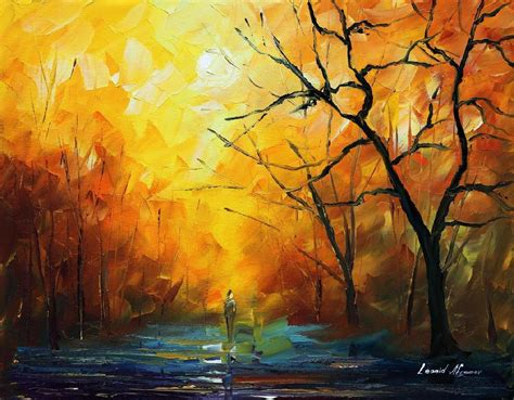 The colors of morning palette knife oil painting on canvas by leonid afremov size 16 quot x20 quot
