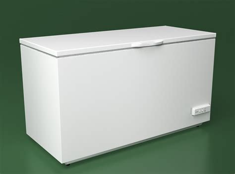 Freezer Box Electrolux Electrolux Chest Freezer 3d Model Max Obj Fbx Cgtrader