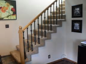 banister spindles replacement baluster replacement traditional staircase portland