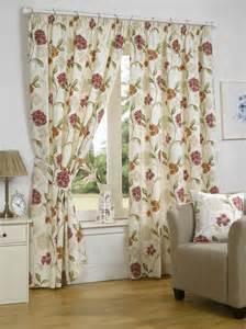 rideaux enti 232 rment doubl 233 s 192 fleurs design accessoires