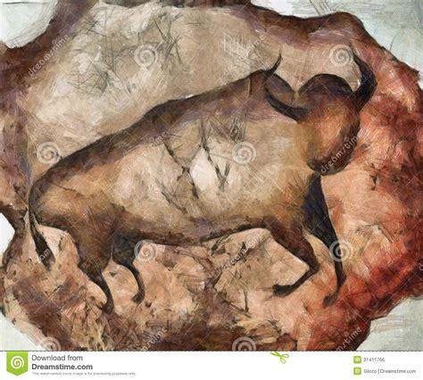 altamira el sol del sur bull a la altamira stock illustration image of fine