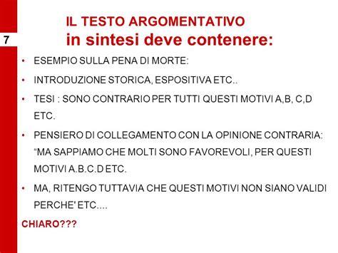 il testo argomentativo tema di italiano tipologia b il saggio breve ppt