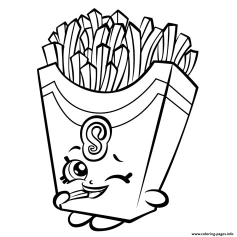 coloring pages of shopkins season 3 fiona fries season 3 shopkins season 3 coloring pages