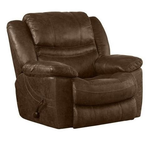 power glider recliner chair catnapper valiant power glider recliner in elk