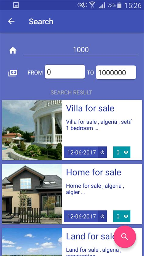 home finder v2 realtime application with firebase and
