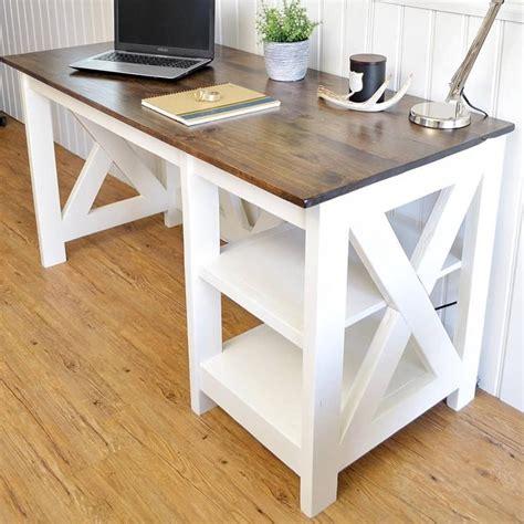 diy desk plans   build today