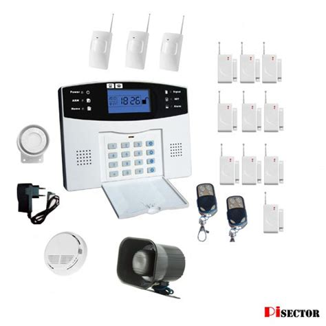 gt cheap pisector cellular gsm home security alarm