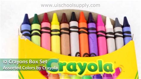 Crayon Apik 12 Colour 12 assorted colors crayola crayons 52 0012