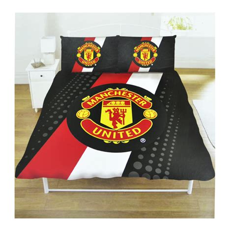 manchester united football club double size duvet cover