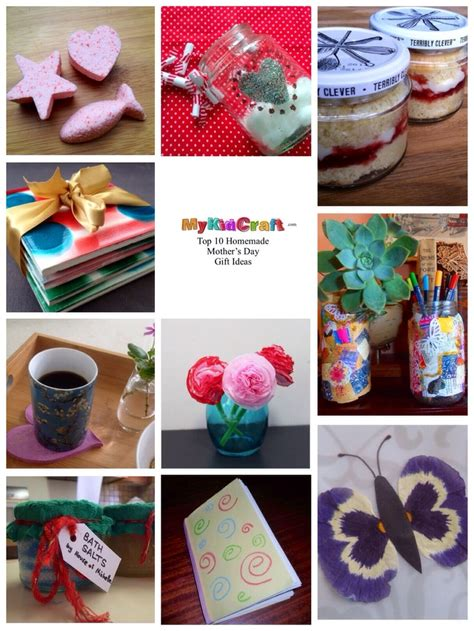 Top 10 S Day Gift Ideas Top 10 Mothers Day Gift Ideas My Kid Craft