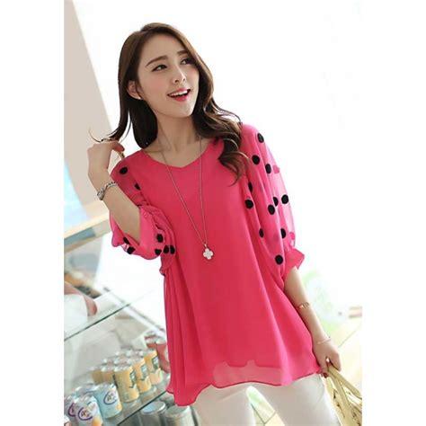 B16 Chiffon Blouse Import blouse chiffon import t2270 moro fashion