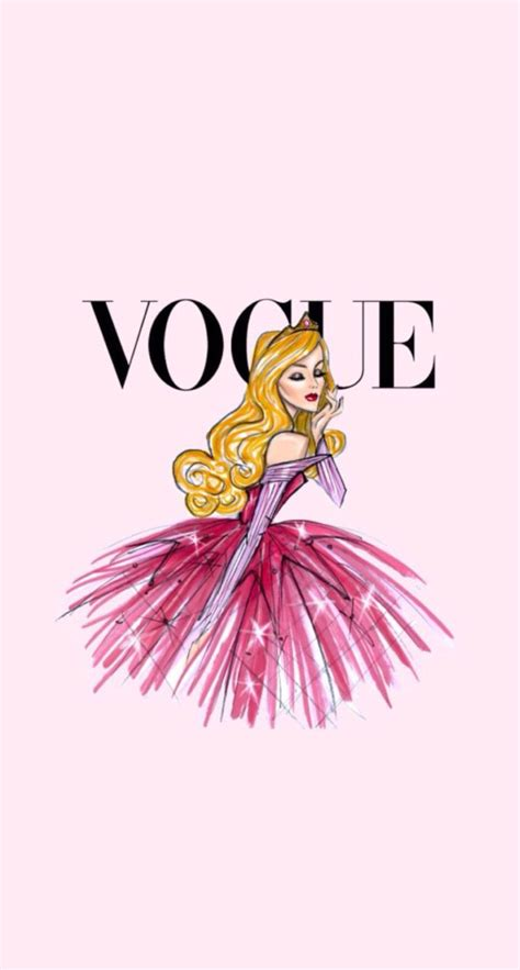 wallpaper girly fashion disney vintage vogue iphone wallpaper aurora fairytale