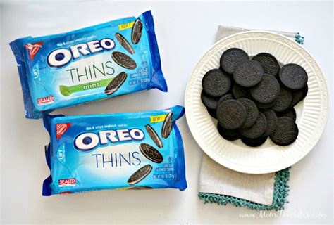 Oreo Thins Crispy Cookies oreo thins a crispy cookie treat forks and folly