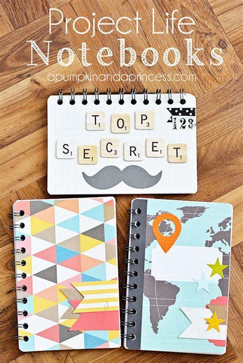 ideas para decorar libretas bonitas manualidades con papel scrapbooking y diy manualidades