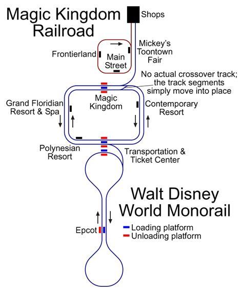 disney monorail map best stories disney world map