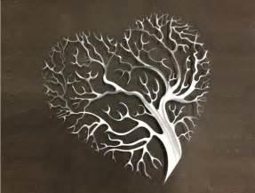 Large Wooden Vases Uk Tree Heart Metal Wall Art Tree Metal Wall Art By Inspiremetals