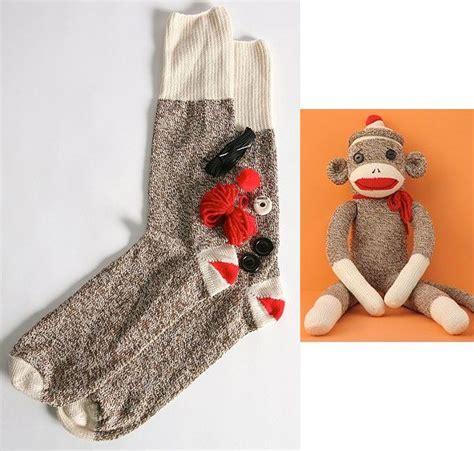 diy sock monkey secret presents