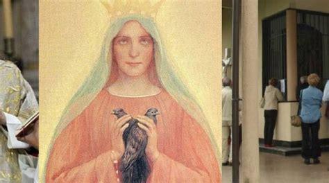madonna ghiaie di bonate autorizzato il culto a della famiglia alle