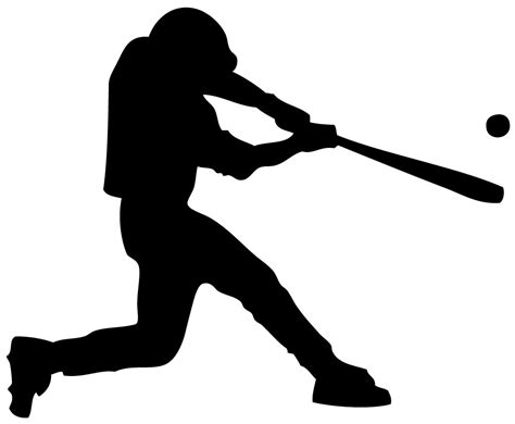 baseball swing free baseball player clipart pictures clipartix