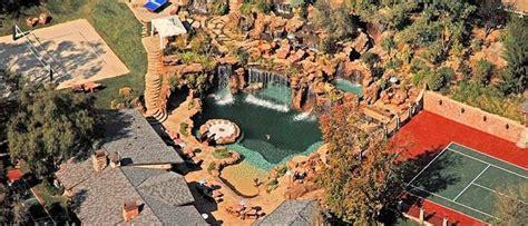 drake new house drake s new la mega mansion mansions waterfalls and pools