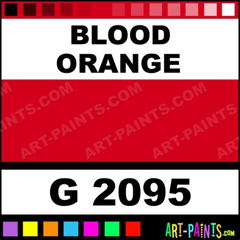 blood orange color blood orange gold line spray paints g 2095 blood