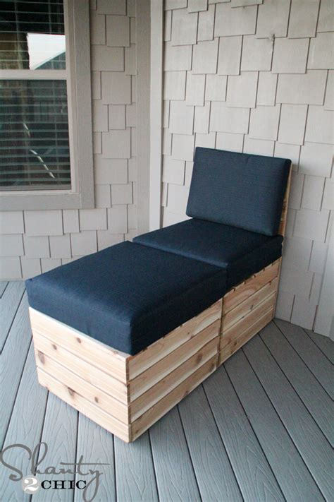 diy outdoor chaise lounge diy modular outdoor seating shanty 2 chic