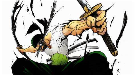 wallpaper hd zoro one piece roronoa zoro 3 sword style 2u wallpaper hd