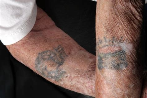veteran carries wwii tattoos on to korea vietnam