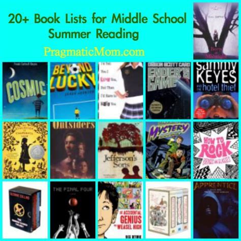 5 Books For A Wide Reader by Summer Reading Lists For Middle School Summer