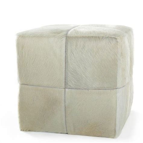 117 Best Images About Cowhide Furniture On Pinterest Cowhide Cube Ottoman